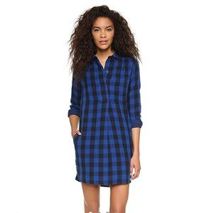 Madewell Jane plaid dress
